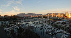 Another Panoramic View from Granville St Bridge