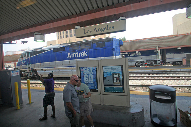 At Union Station - Los Angeles (2038)
