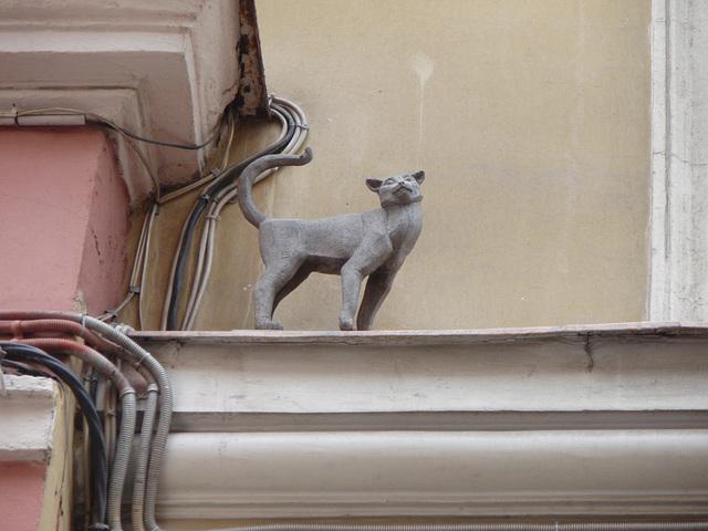 Katze Skulptur