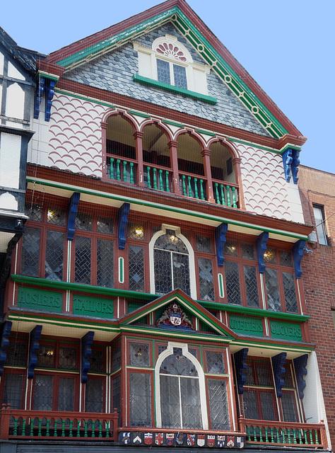 Mediaeval Building, High Street, Exeter