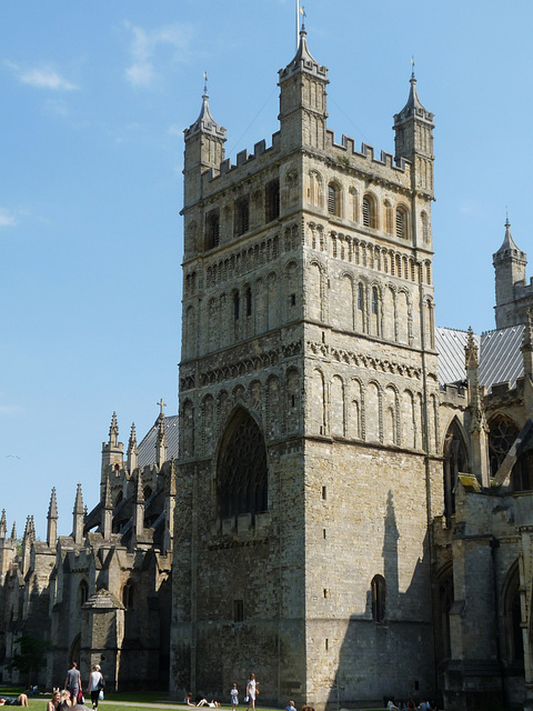 Exeter Cathedral- North Tower (Norman)