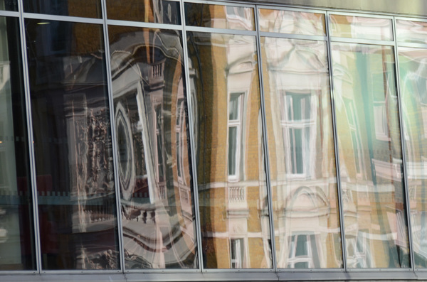 The old reflected in the new