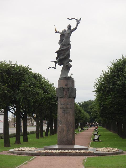 Russisch Flotte Denkmal