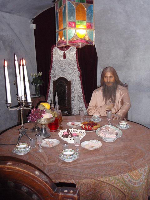 Jussupow Palast -- Grigorij Rasputin