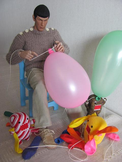 Mayday balloons
