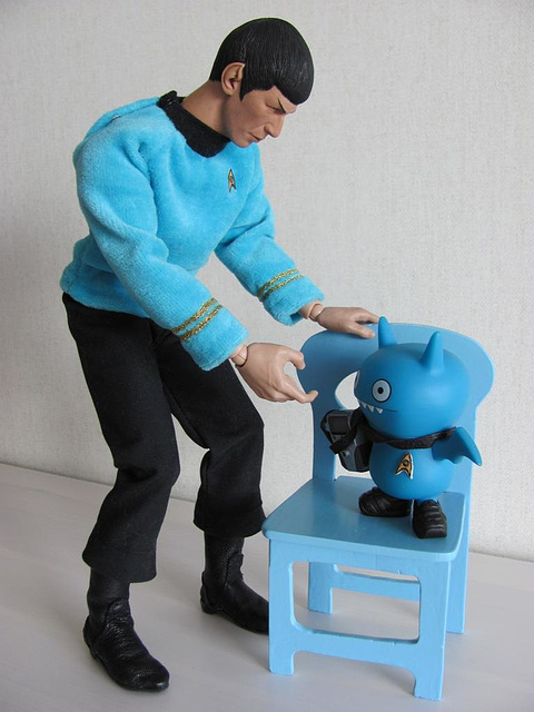 Spock and Icy