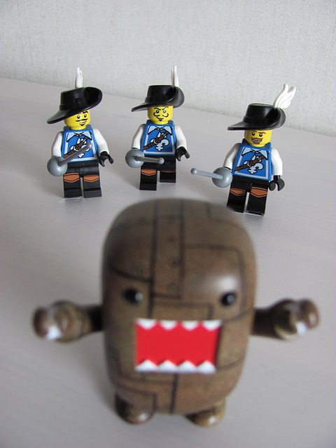 Domo and the three musketeers