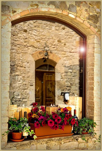 Toscanischer Spiegel