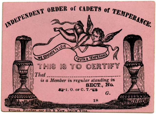 Independent Order of Cadets of Temperance