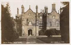 Mere New Hall, Cheshire (Demolished c1975)