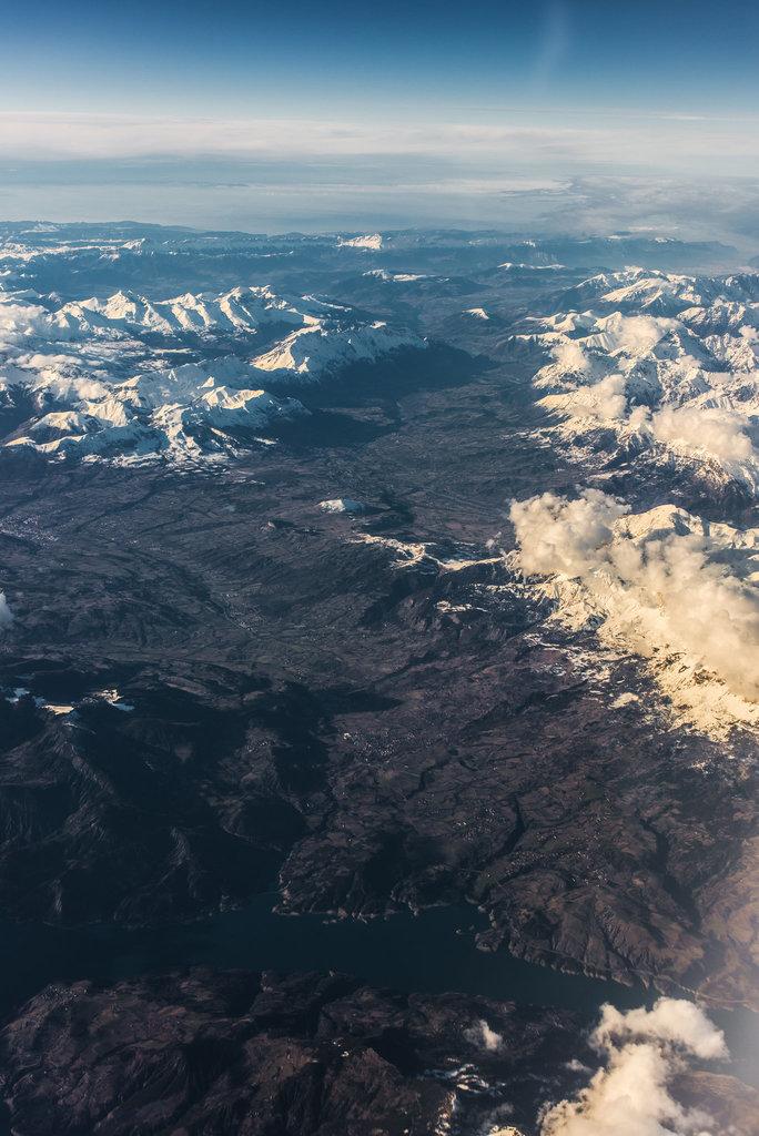 Irgendwo über der Süd-Schweiz - 20140122
