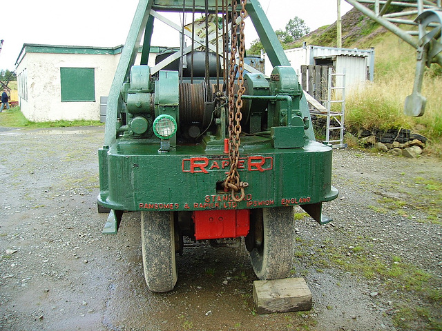 TiG - Green Ransomes, rear view