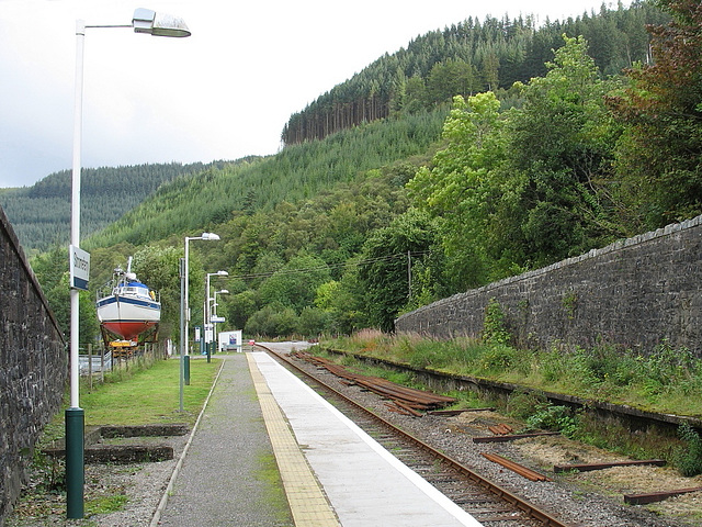 Stromeferry station