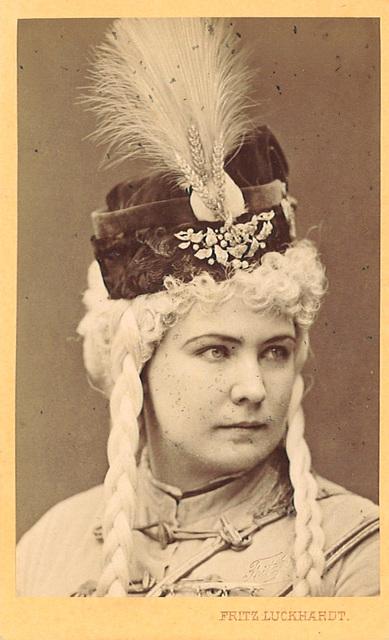 Marie Geistinger by Luckhardt