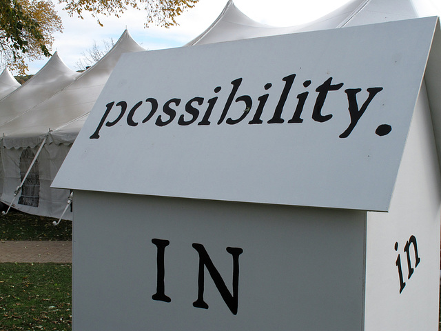 in possibility