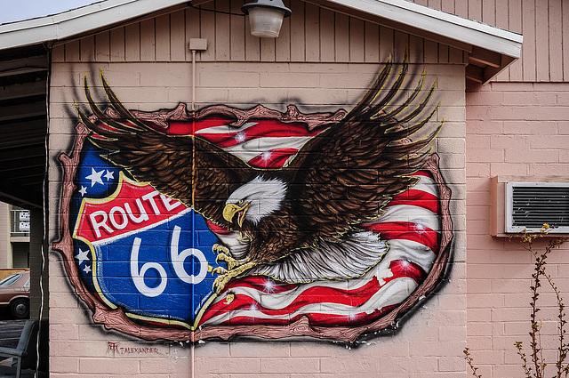 Route 66- Grafitti