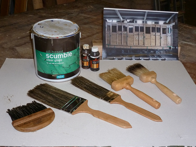 CF - scumble supplies
