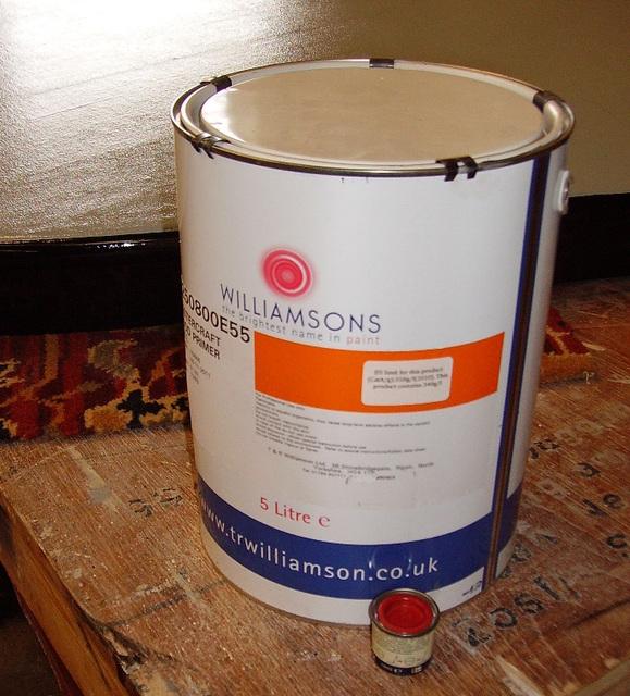 CF - paint supplies