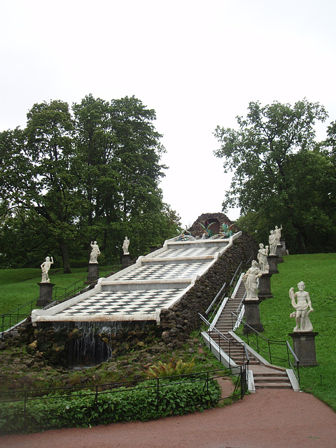 """Peterhof -- Springbrunnen """"Schachenberg"""""""