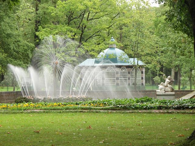 "Peterhof -- Springbrunnen ""Sonne"""