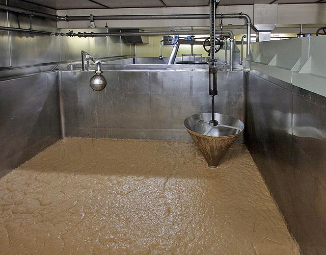 Fermenting vat
