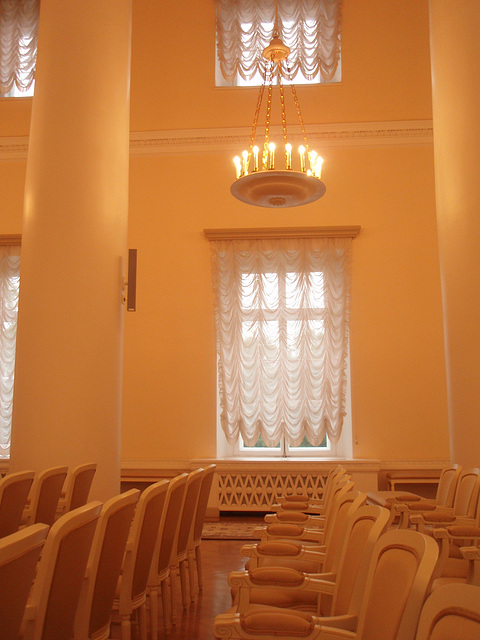 Interieur in Smolnij