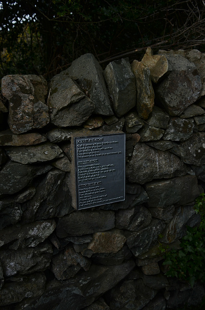 Frenchman's grave, Barmouth.