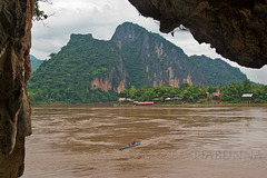 View from Pak Ou Caves