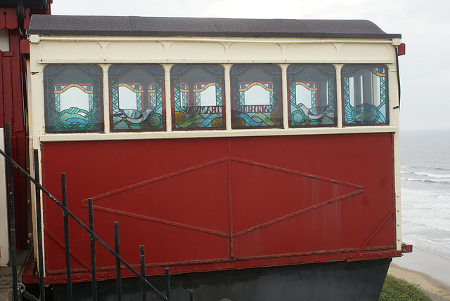 SCL - old Saltburn car at top