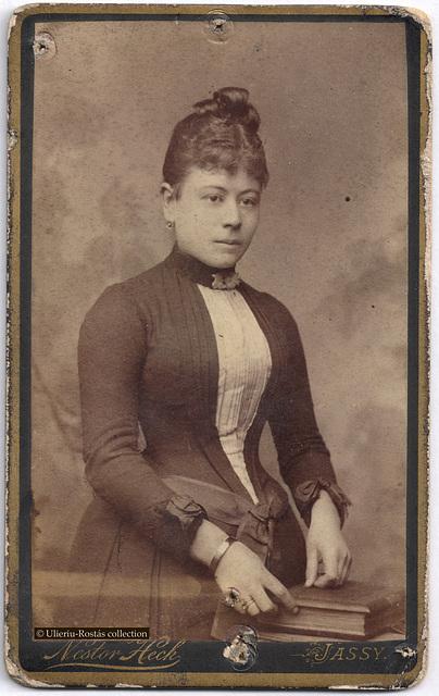 Portrait of a lady, by Nestor Heck (Iași)