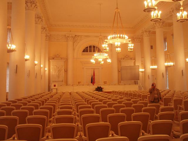 Interieur in Smolnij