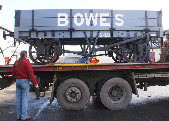 BR GW - B-49 loaded to go home