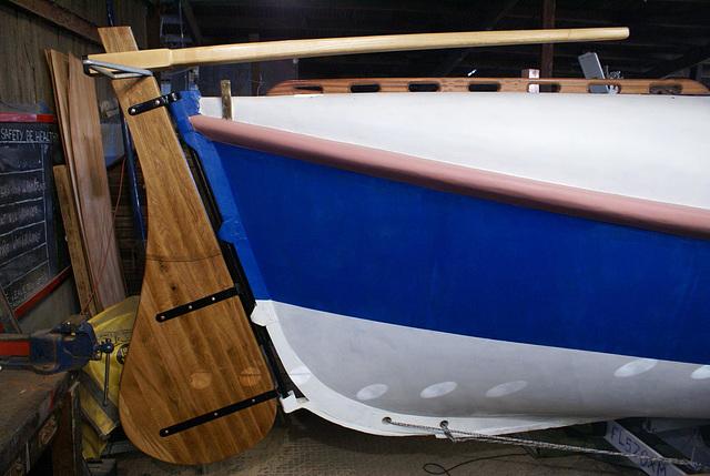 WR - Finished rudder