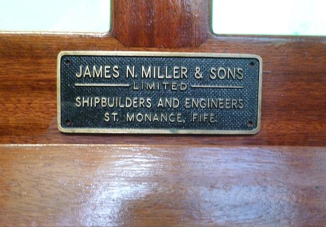 MF - Builder's Plate