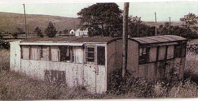 BC - buffet car in a field