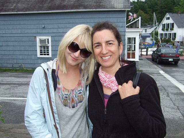 Julia and Amanda