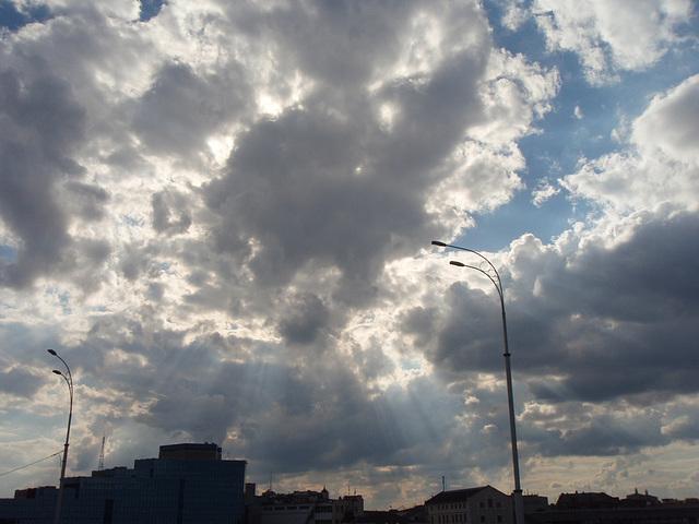 der Himmel über Podol (Kiew)