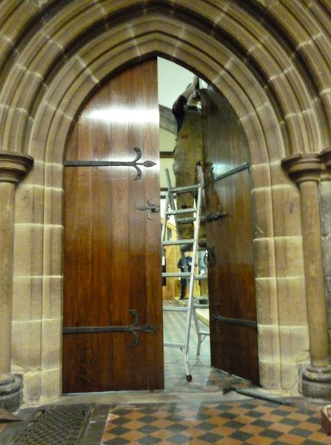 OOD - re-fitting doors