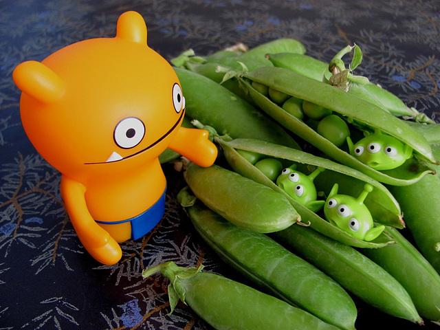 Strange peas