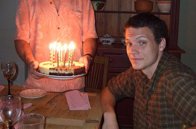 Celebrating Max's 18th Birthday