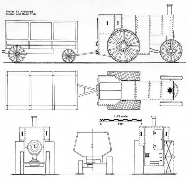 BT - Fowler train plans