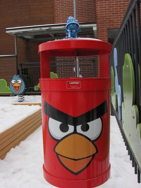 Icy at the Angry Birds playground 2