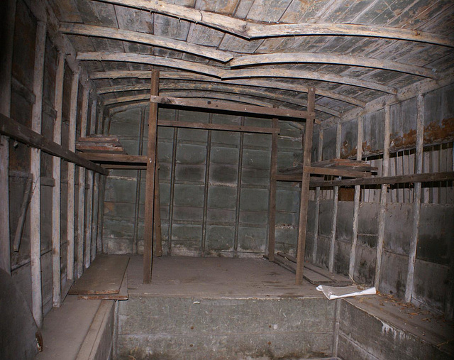 1001 - inside a van