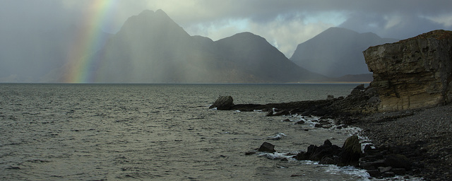 The Cuillins from Elgol Jetty