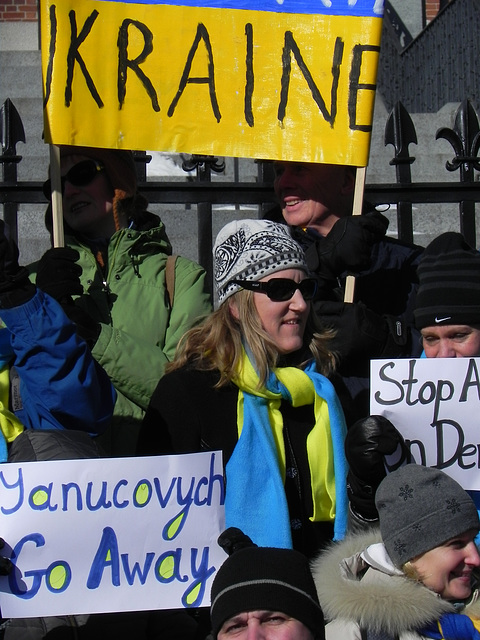 Boston supports Ukrainian Revolution
