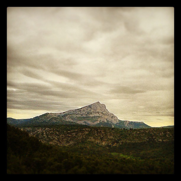 La Sainte Victoire - 8 June 2013 (instagram)