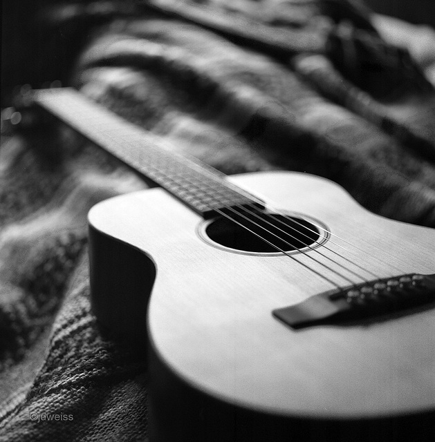 while my guitar gently sleeps
