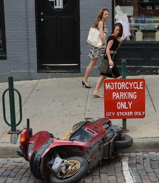 Not technically a motorcycle . . .
