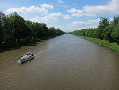 der Mittellandkanal im Landkreis Schaumburg