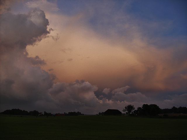 After thunderstorm